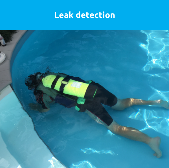 looking for leaks in a pool - Swimmingly Pools