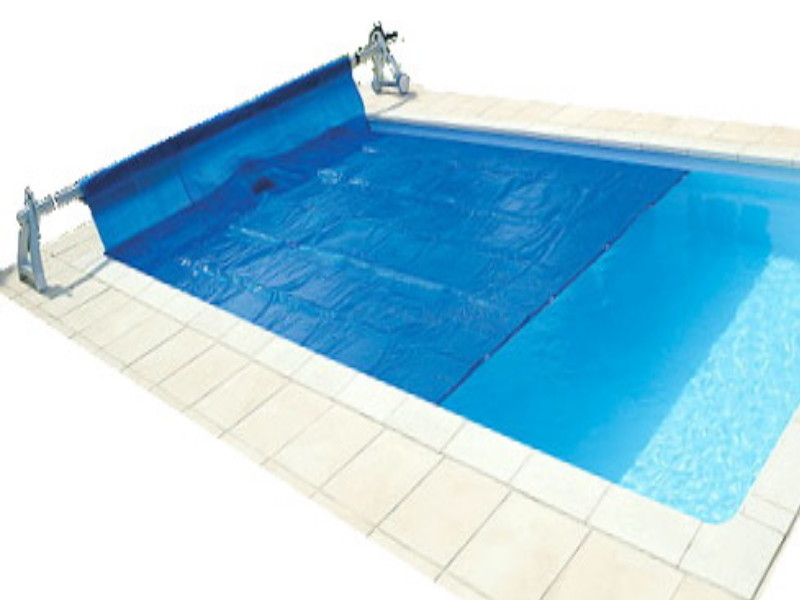 pool cover on a reel-pool supplies-Swimmingly Pools